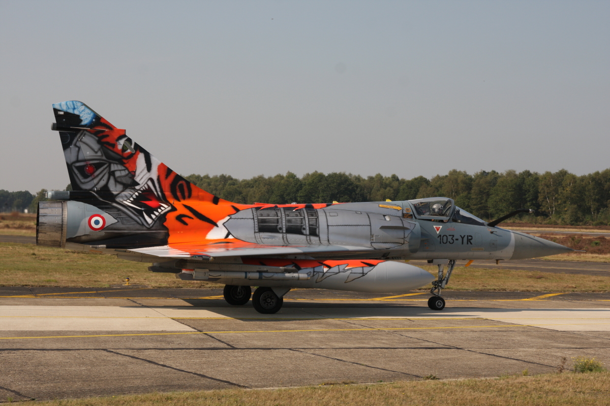 Mirage 2000C Tiger Meet 2009