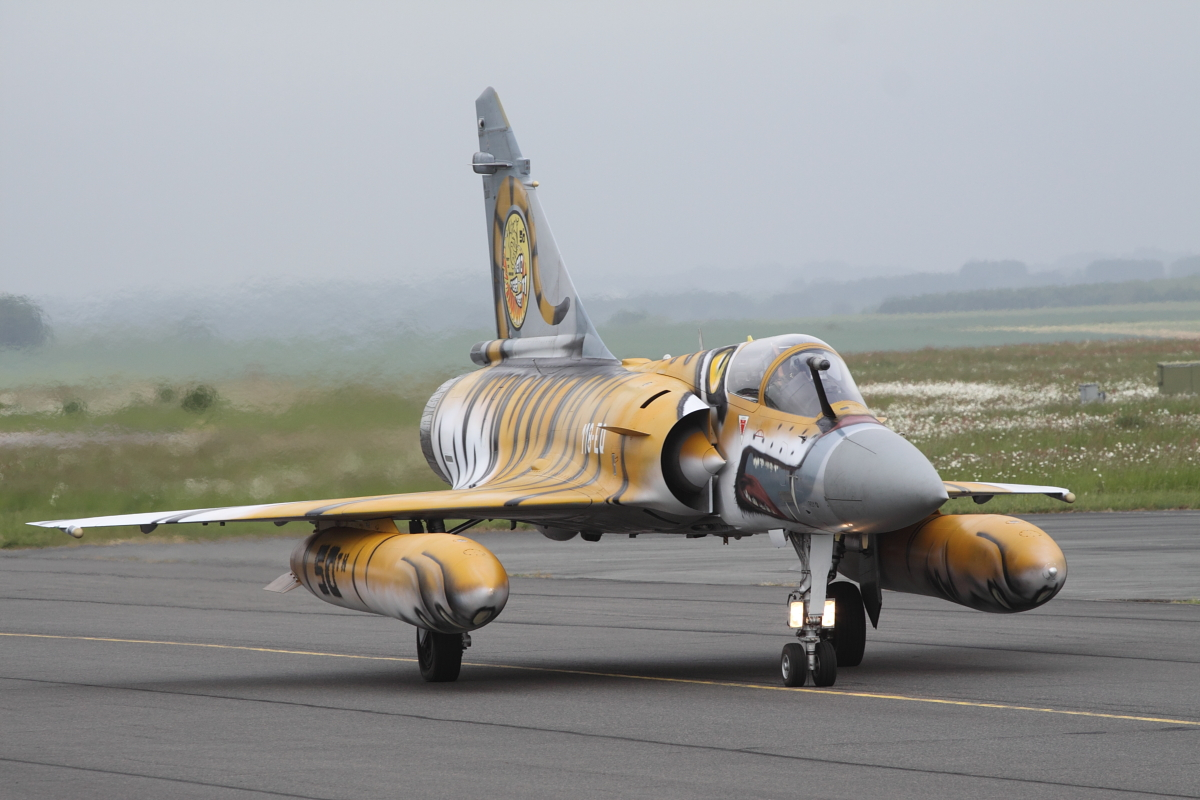 Mirage 2000-C in tiger print