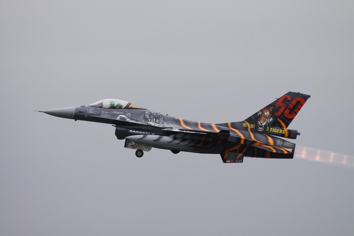 Belgian F-16 Tiger