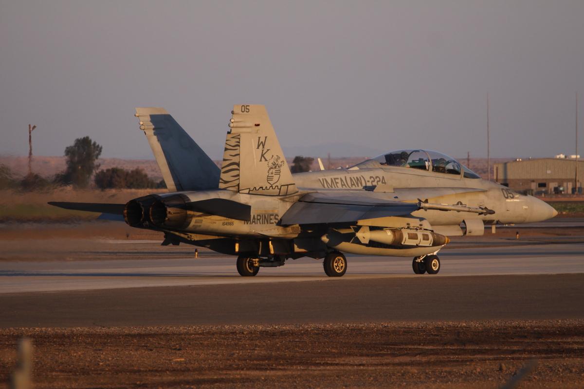 F-18D VMFA-224